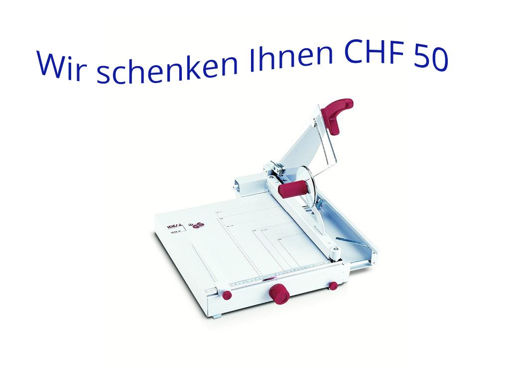 IDEAL Schneidmaschine 1038 & 1058