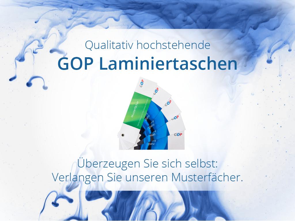 GOP Laminiertaschen